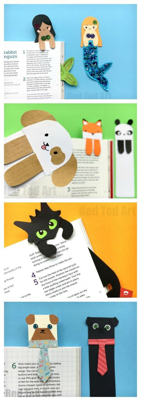 Как сделать красивую закладку для книги: выбор материалов и советы по изготовлению - handskill.ru