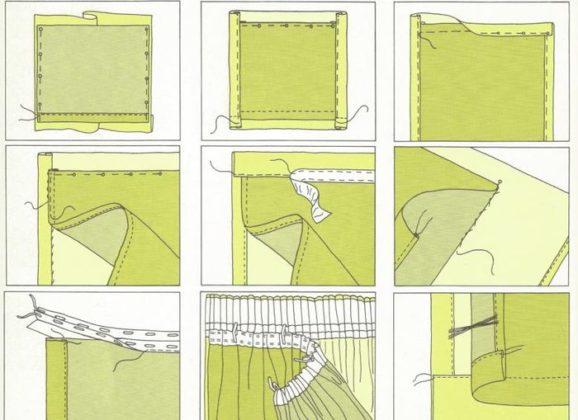 Как подшить тюль своими руками правильно и красиво?