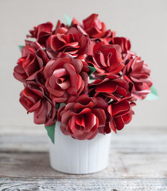 Как сделать розу из бумаги: фото, примеры схем, видео с инструкциями