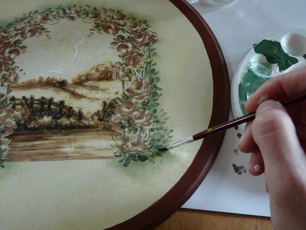 Картины из салфеток своими руками - serviceyard-уют вашего дома в ваших руках.
