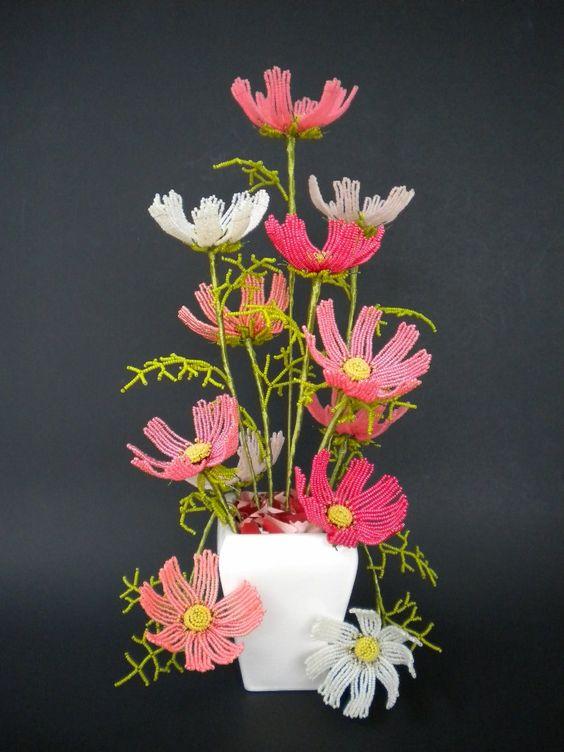 Букеты роз цветы из бисера – бисерок