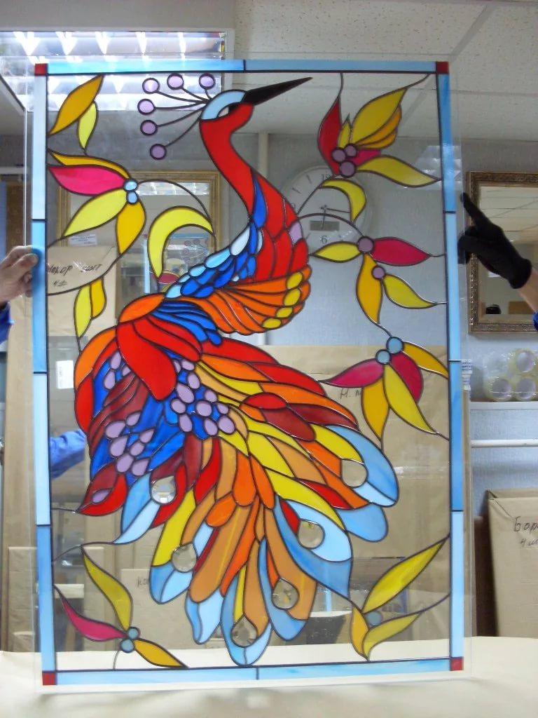 Как сделать витраж на стекле своими руками в домашних условиях: пошаговый мастер-класс +трафареты | (120+ фото & видео)