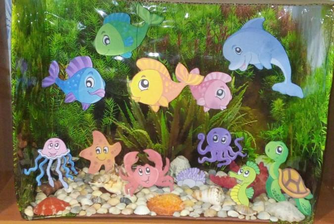 Аквариумы своими руками, макеты аквариумов в уголок природы. воспитателям детских садов, школьным учителям и педагогам - маам.ру
