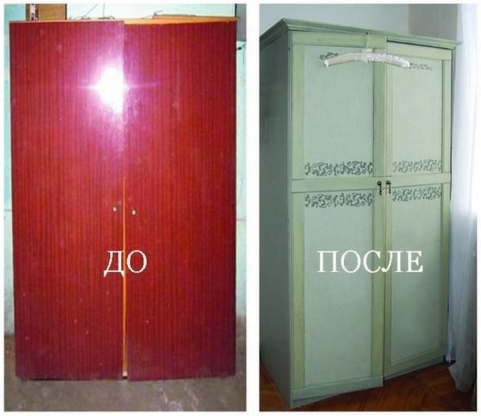Как обновить старый шкаф