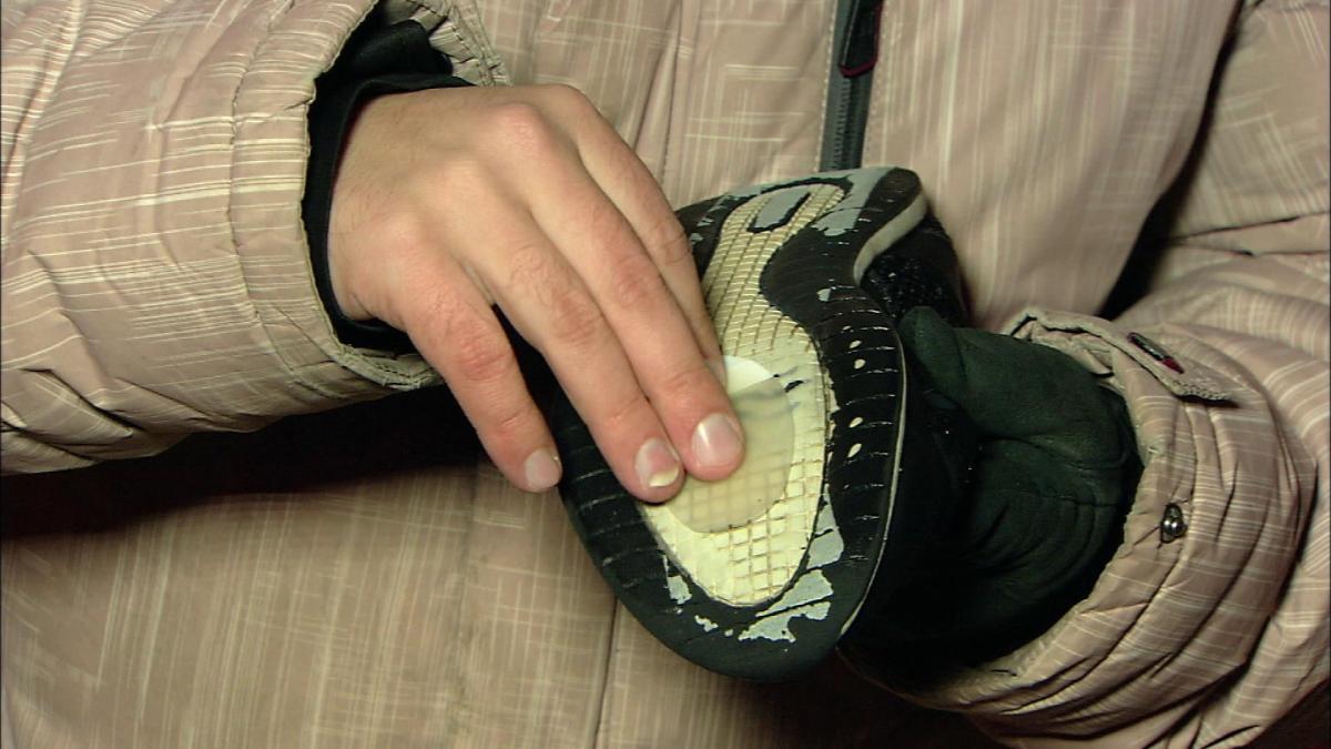 Как сделать подошву нескользящей в домашних условиях | энциклопедия обуви