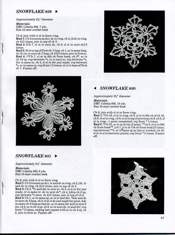 Снежинки крючком. схемы с описанием для начинающих и мой реальный опыт вязания