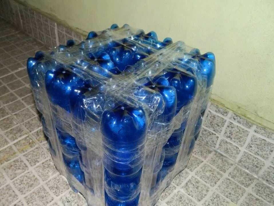 Мебель из пластиковых бутылок своими руками - serviceyard-уют вашего дома в ваших руках.
