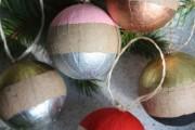50+ идей декупажа елочных шаров своими руками: обзор