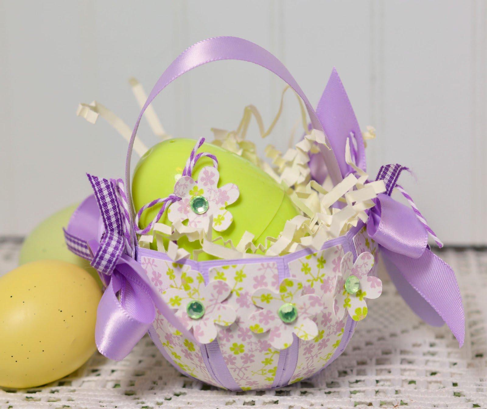 Поделки к пасхе: корзинки и подставки для пасхальных яиц