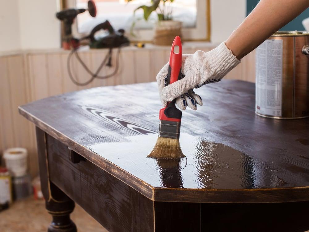 Способы реставрации стола своими руками +50 фото идей и примеров