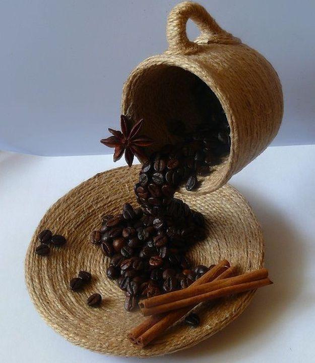Кофейные поделки: 105 фото идей и схемы изготовления поделок из кофейных зерен
