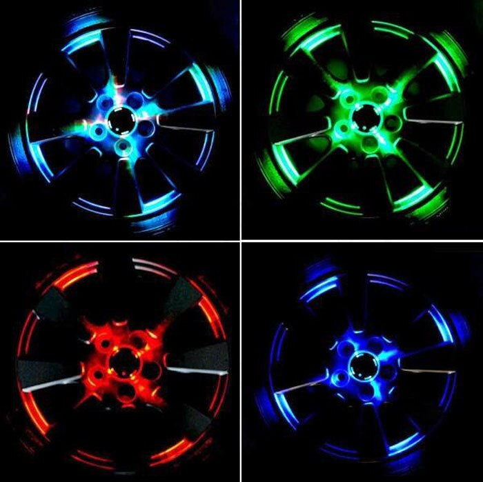 Тюнинг колесных дисков своими руками: разварка и подсветка