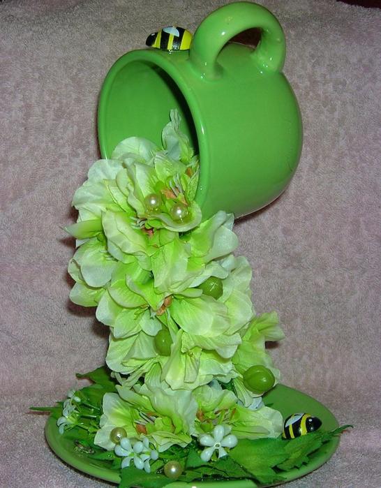 Новогодняя парящая чашка с цветами: как сделать поделку в виде летающей чашики. фото, видео инструкция