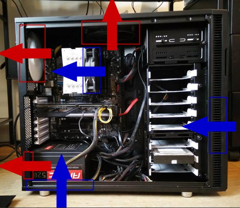 Как правильно охладить жёсткий диск