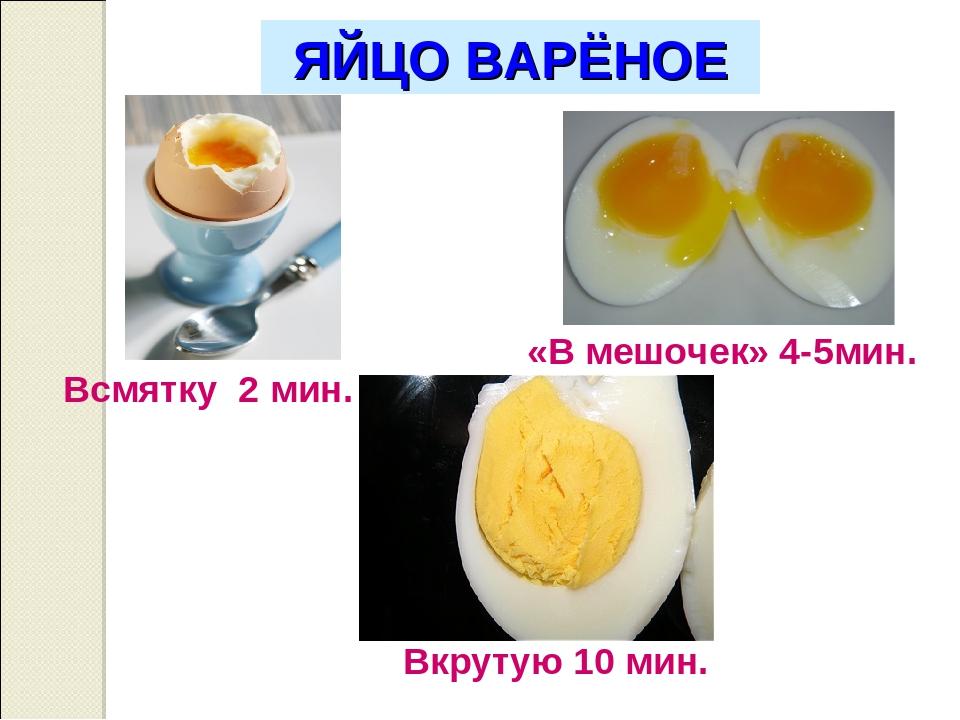 Сколько и как варить яйца всмятку, вкрутую и в мешочек | ktonanovenkogo.ru