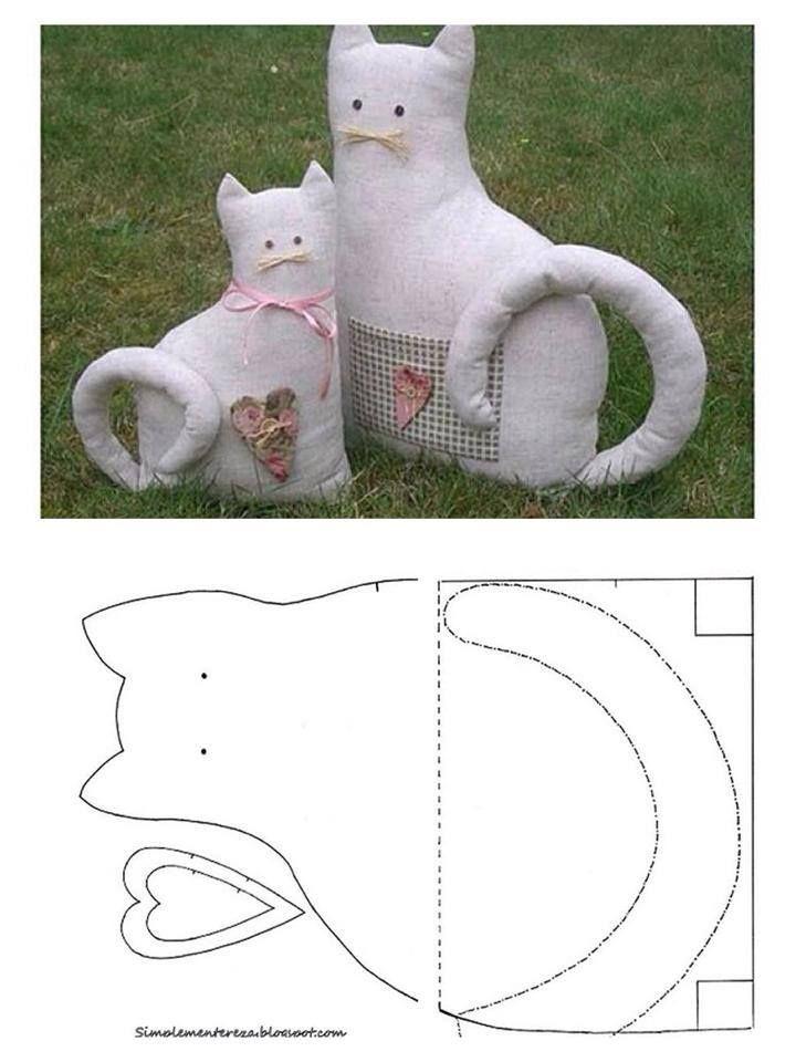 Декоративная подушка кот своими руками: выкройки и интересные идеи оформления