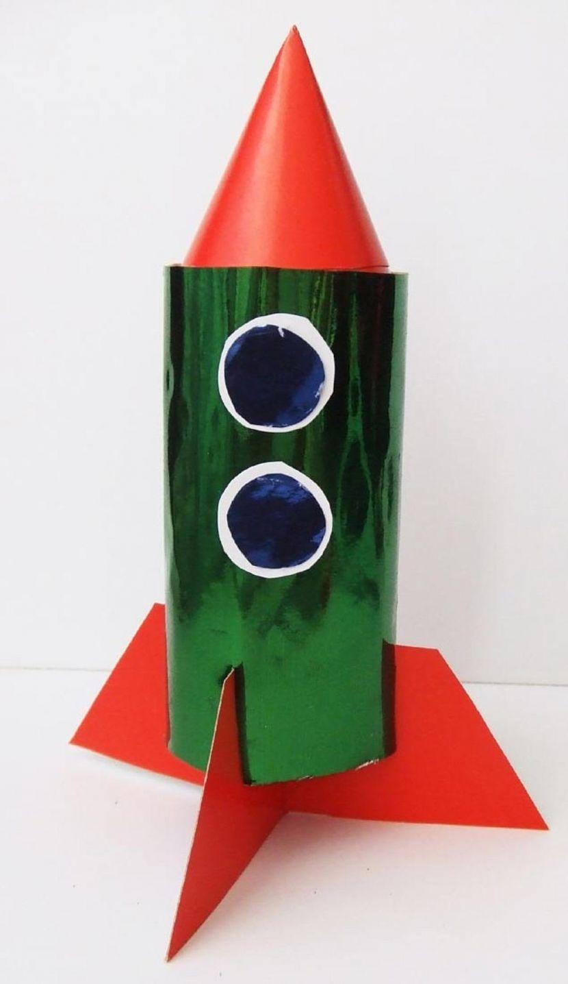 Как сделать ракету из бумаги — 3 способа