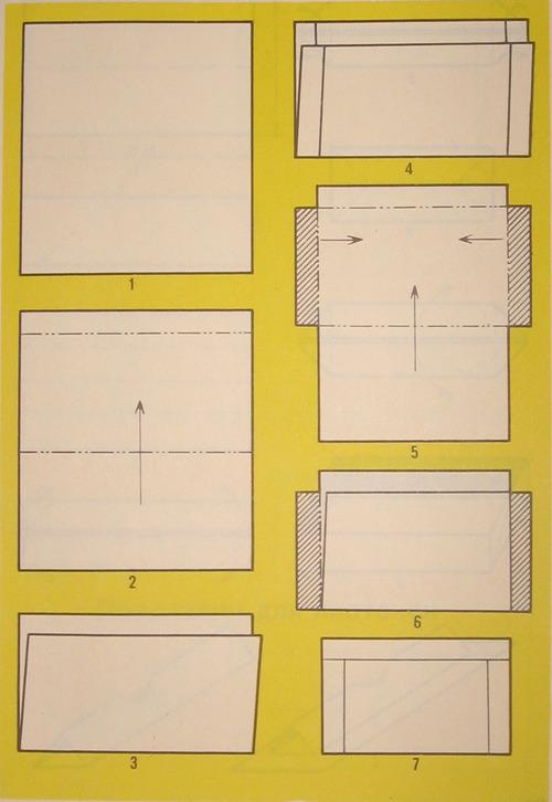 Как сделать конверт из бумаги своими руками