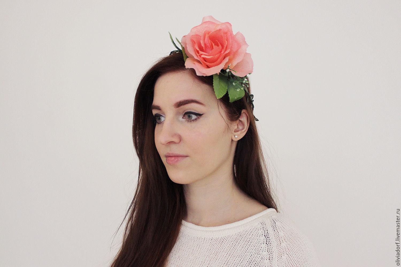 Ободок для волос (133 фото): канзаши, красивые модели на голову с камнями, из бисера и бусин