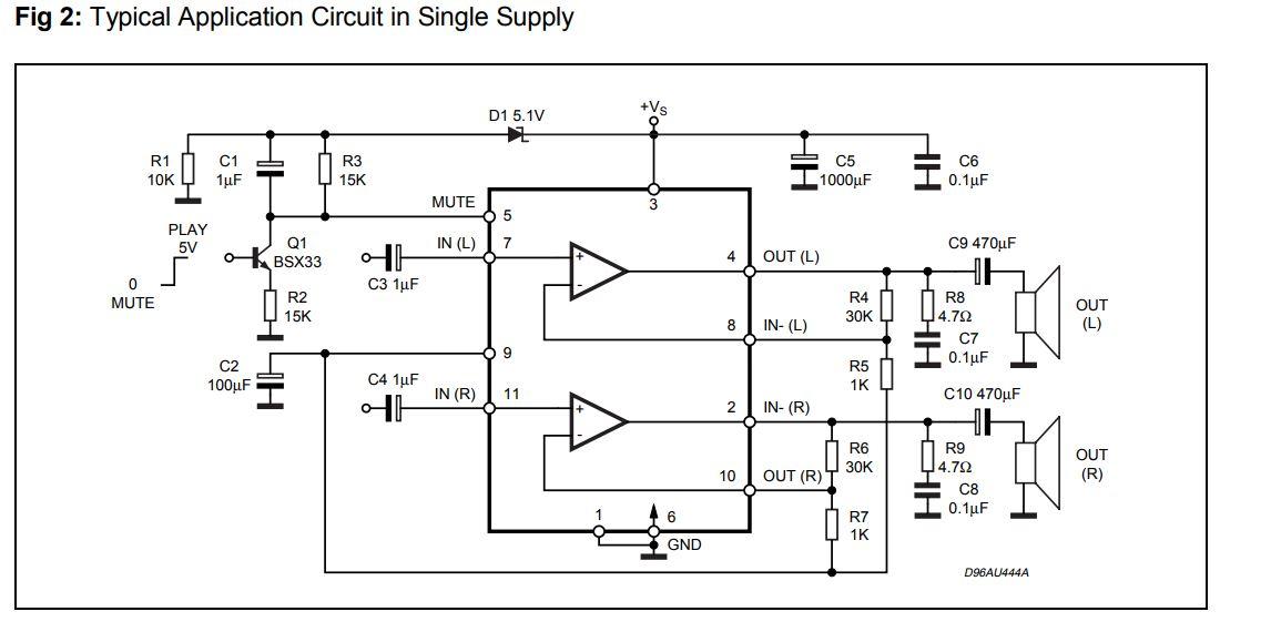Микросхема tda7377: характеристики, datasheet, схема усилителя, аналог