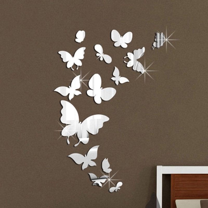 Бабочки в интерьере - 65 фото примеров