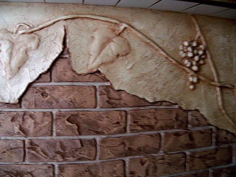 Использование штукатурки под искусственный камень: как сделать самому на фасаде