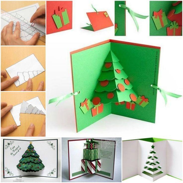 ? новогодние открытки своими руками: красивое дополнение к основному подарку