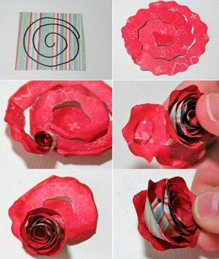 Как сделать розу из гофрированной бумаги своими руками дома с подробной инструкцией и фото. где и как можно использовать розы из гофрированной бумаги | inwomen