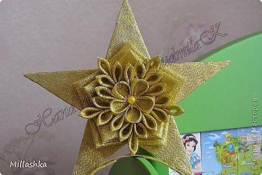 Звезда из атласной ленты. как сделать звезду из ленты атласной на ёлку? art-textil.ru