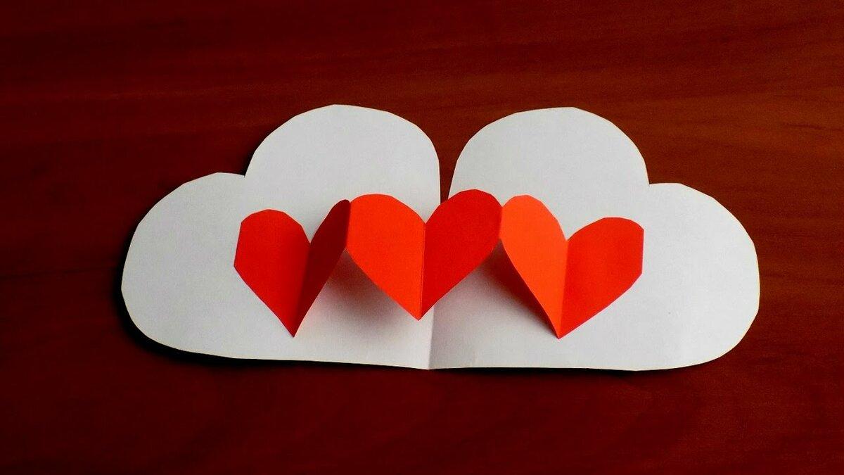Валентинки своими руками ? из бумаги, фетра - мастер-классы с фото 2017