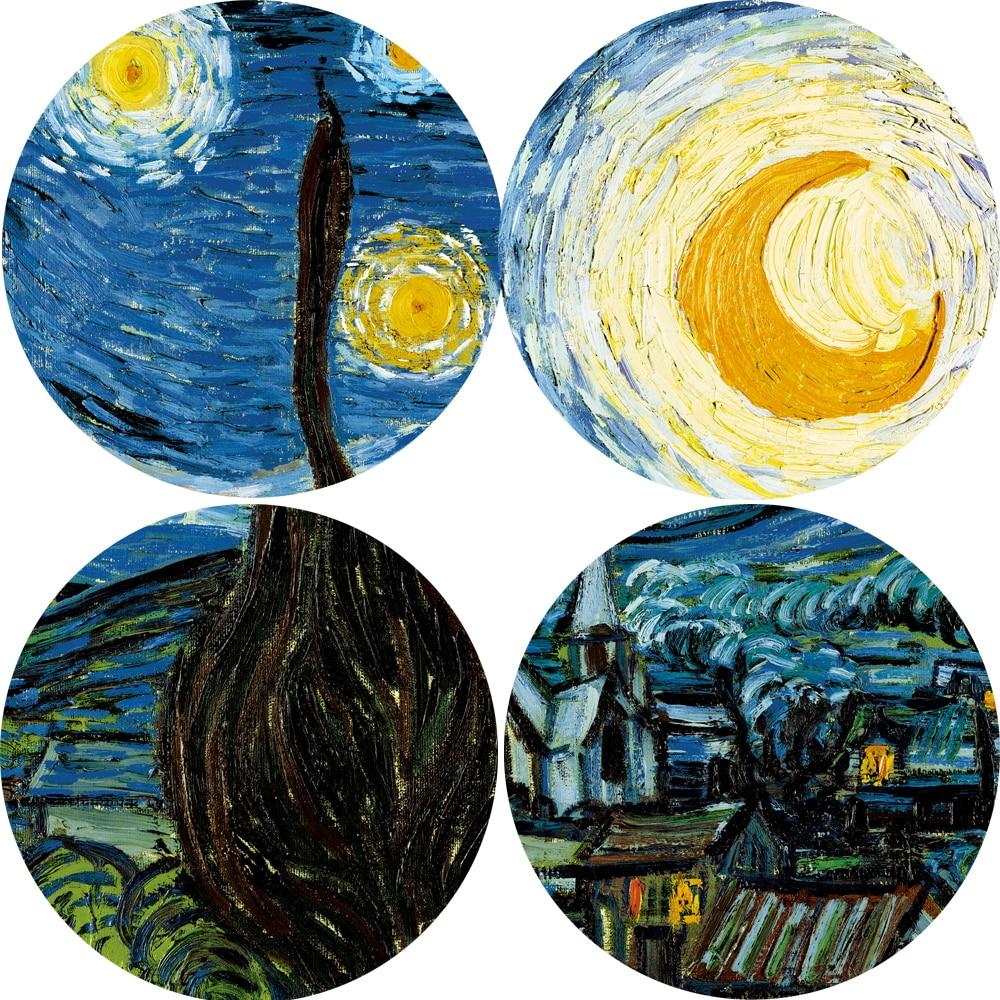Пишем копию картины винсента ван гога «звездная ночь. стилизации под картину винсента ван гога рисуем портреты в стиле ван гога