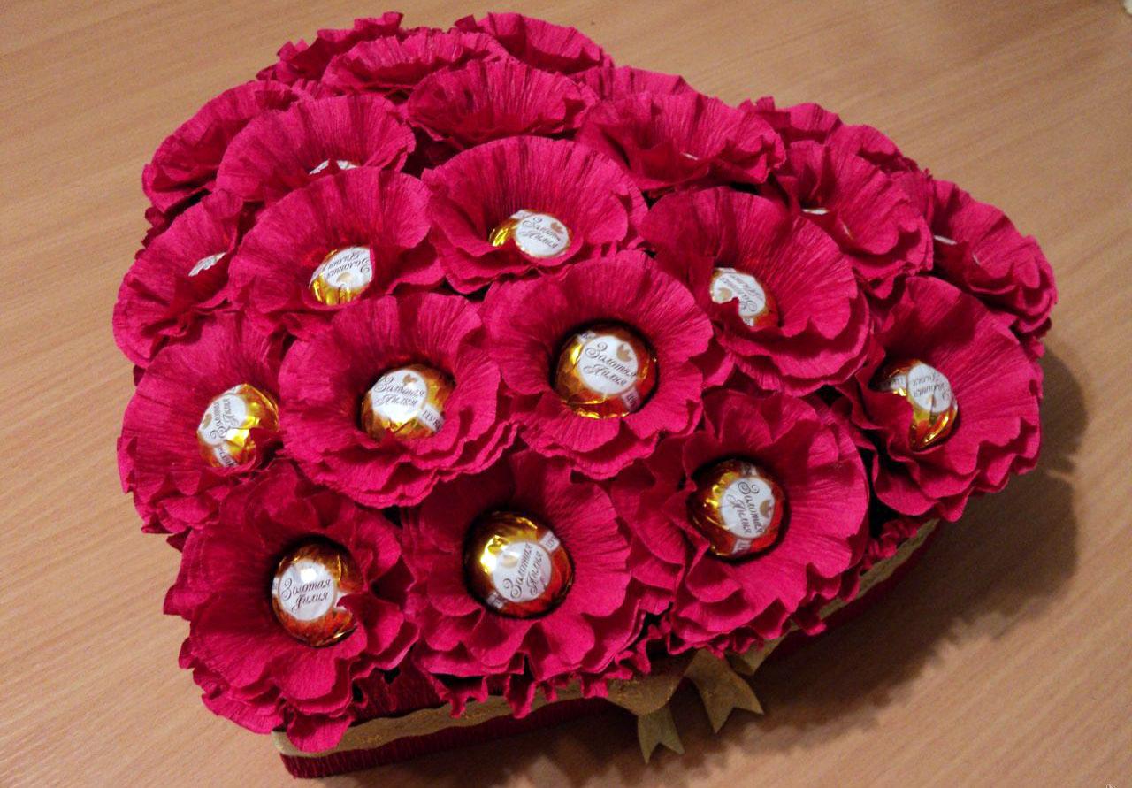 Как сделать букет из конфет своими руками: оригинальные идеи по созданию карамельных и шоколадных цветов