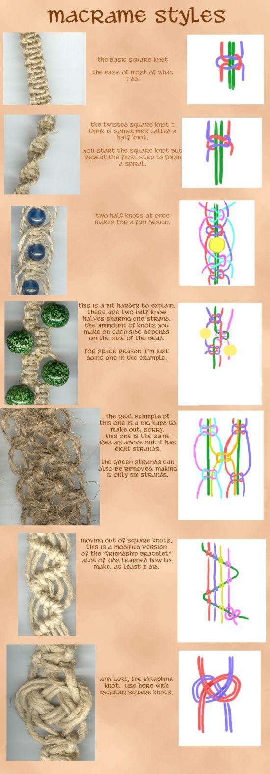 Браслеты макраме для начинающих: схемы плетения с бусинами своими руками