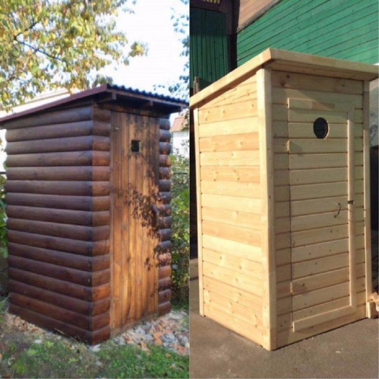 Проект дачного туалета с душем: выбор схемы и инструктаж по строительству