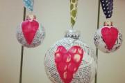 Декупаж новогодних шаров: пошаговая инструкция по украшению новогодних игрушек своими руками (90 фото-примеров)