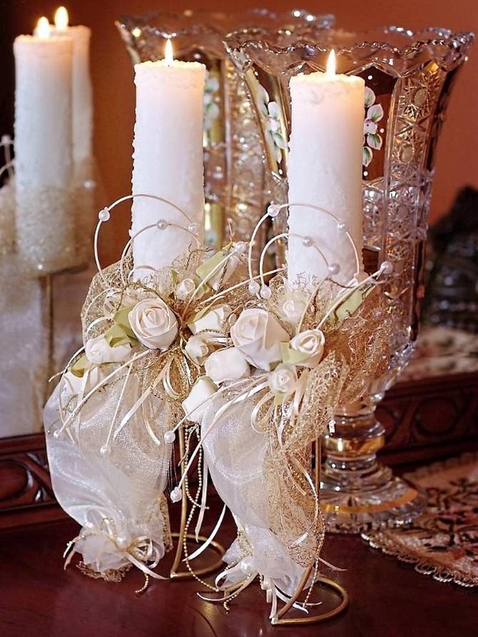 Изготовление и декорирование свечей своими руками - семейный досуг