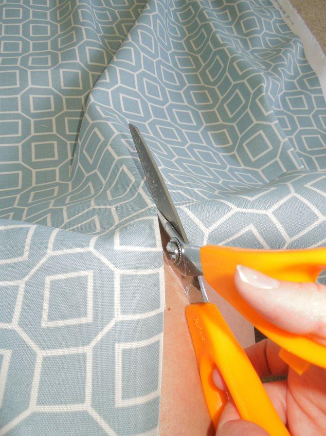 Как самому сшить шторы в домашних условиях