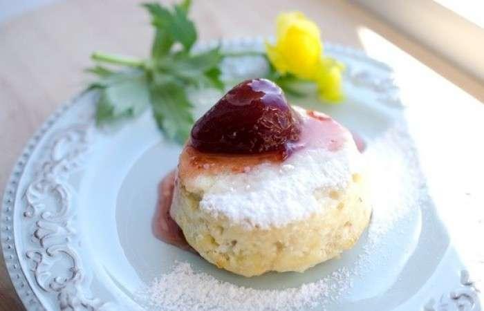 Суфле из риса, аквафабы и апельсина – кулинарный рецепт
