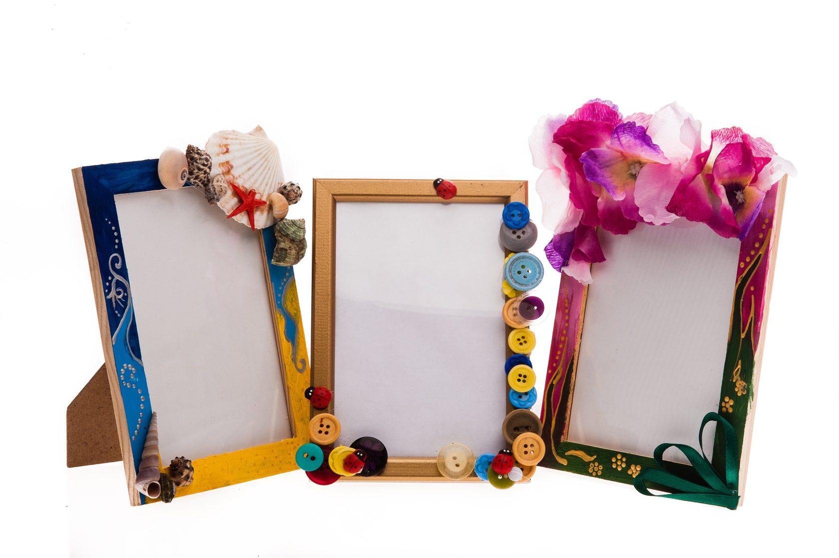 Как сделать рамку для картины своими руками из плинтуса