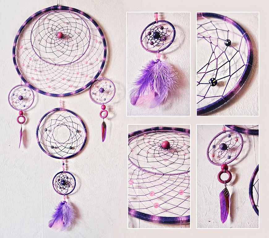 Ловец снов: делаем защитный амулет своими руками - школа астрологии lakshmi