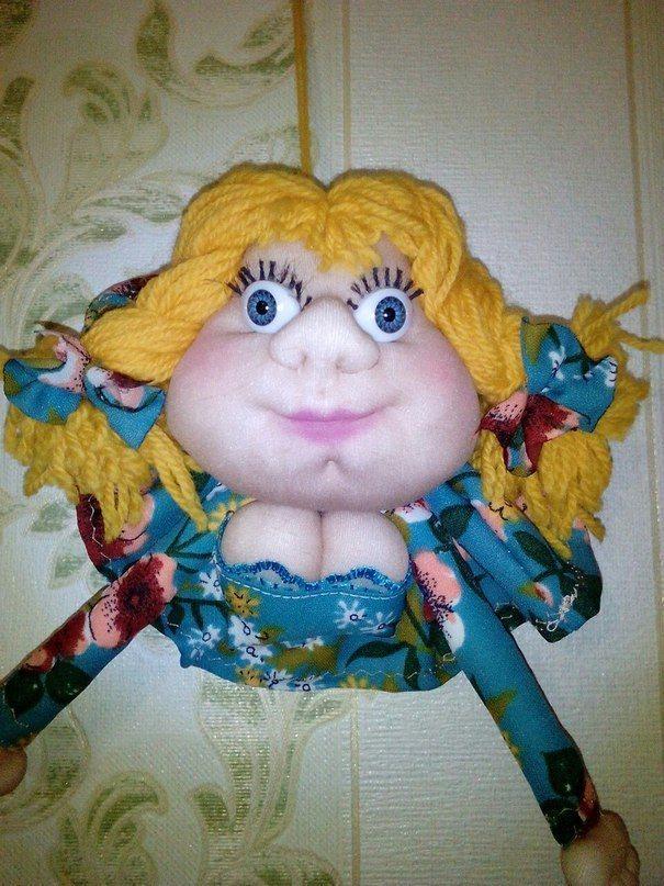 Изготовление своими руками кукол попиков из капрона