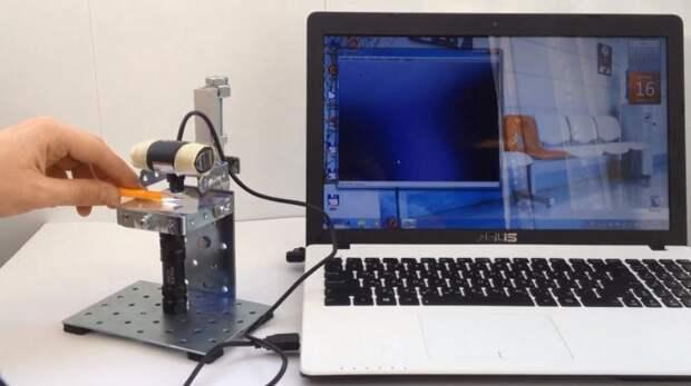Микроскоп из веб-камеры своими руками