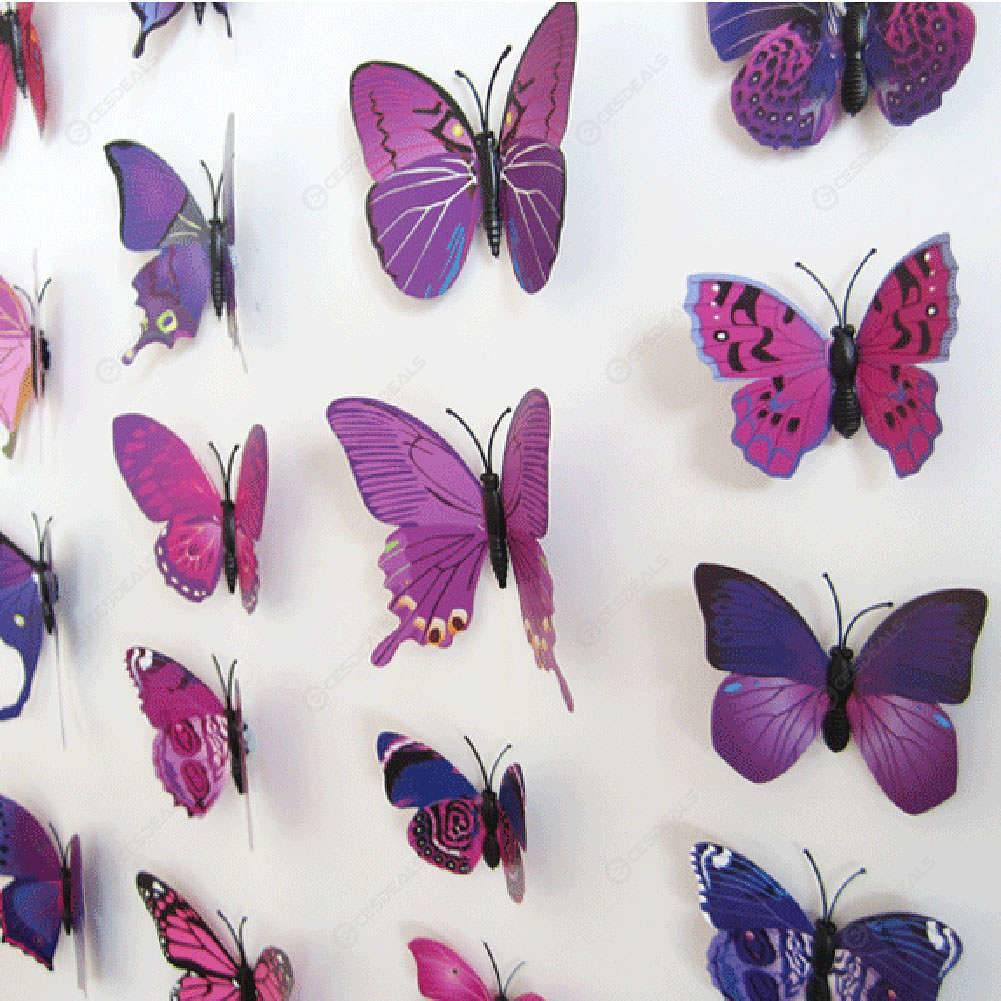Шаблоны бабочек из бумаги для украшения интерьера