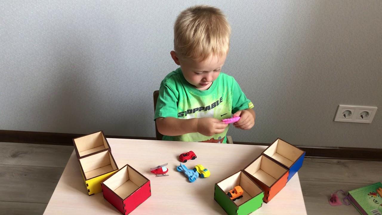 Игры на изучение цвета для детей 5-6 лет