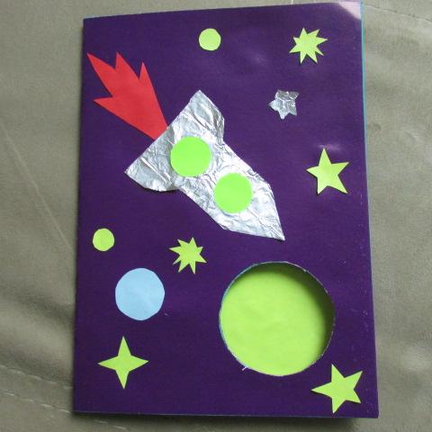 Ракета из бумаги (оригами) — 2 варианта — коробочка идей и мастер-классов