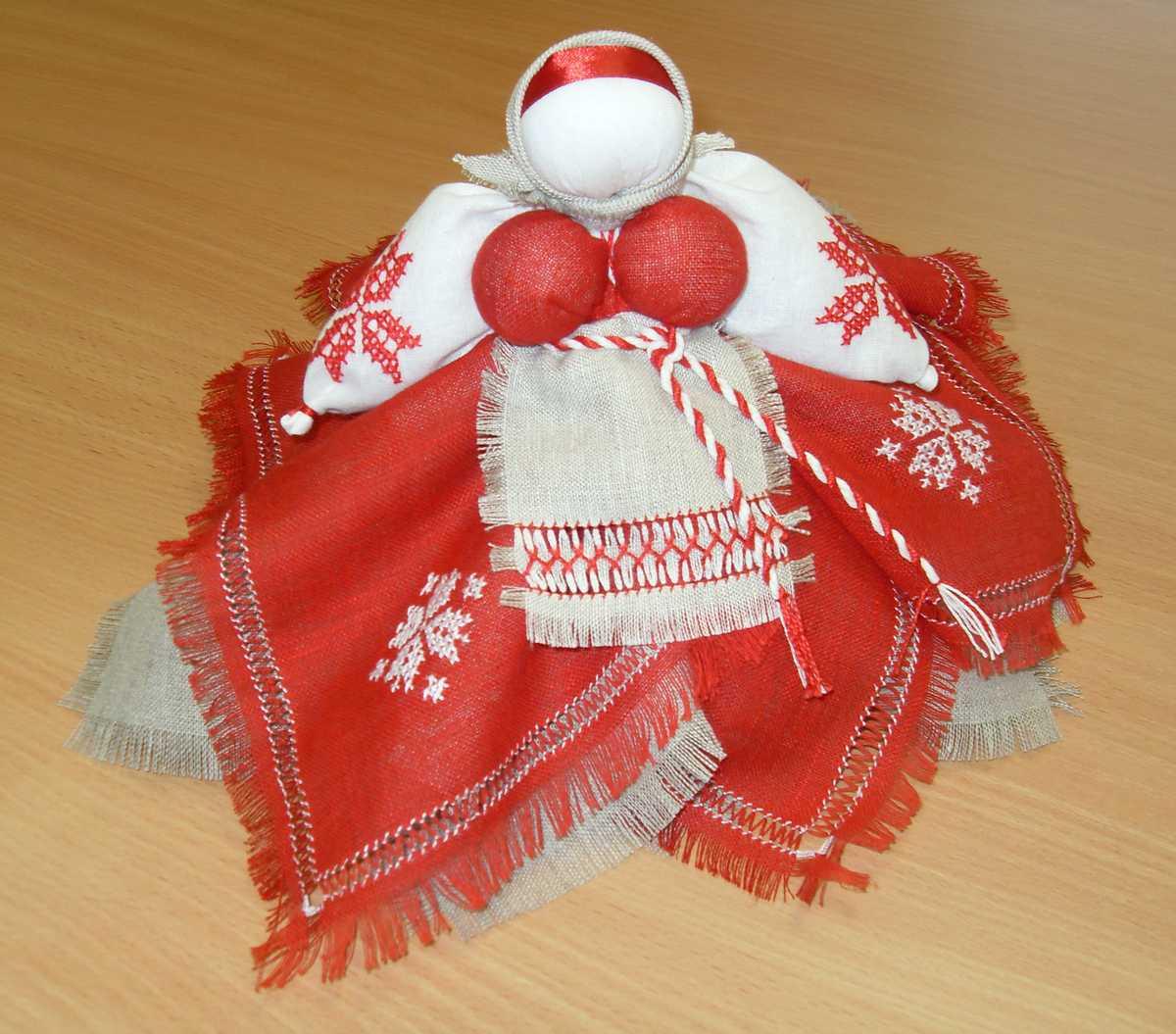 Осенние куклы, рябинка. «кукла рябинка». мастер-класс кукла как сохранение родовой памяти