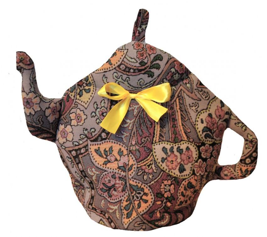 """Декоративная грелка на чайник из того, что под рукой - журнал """"сам себе изобретатель"""""""