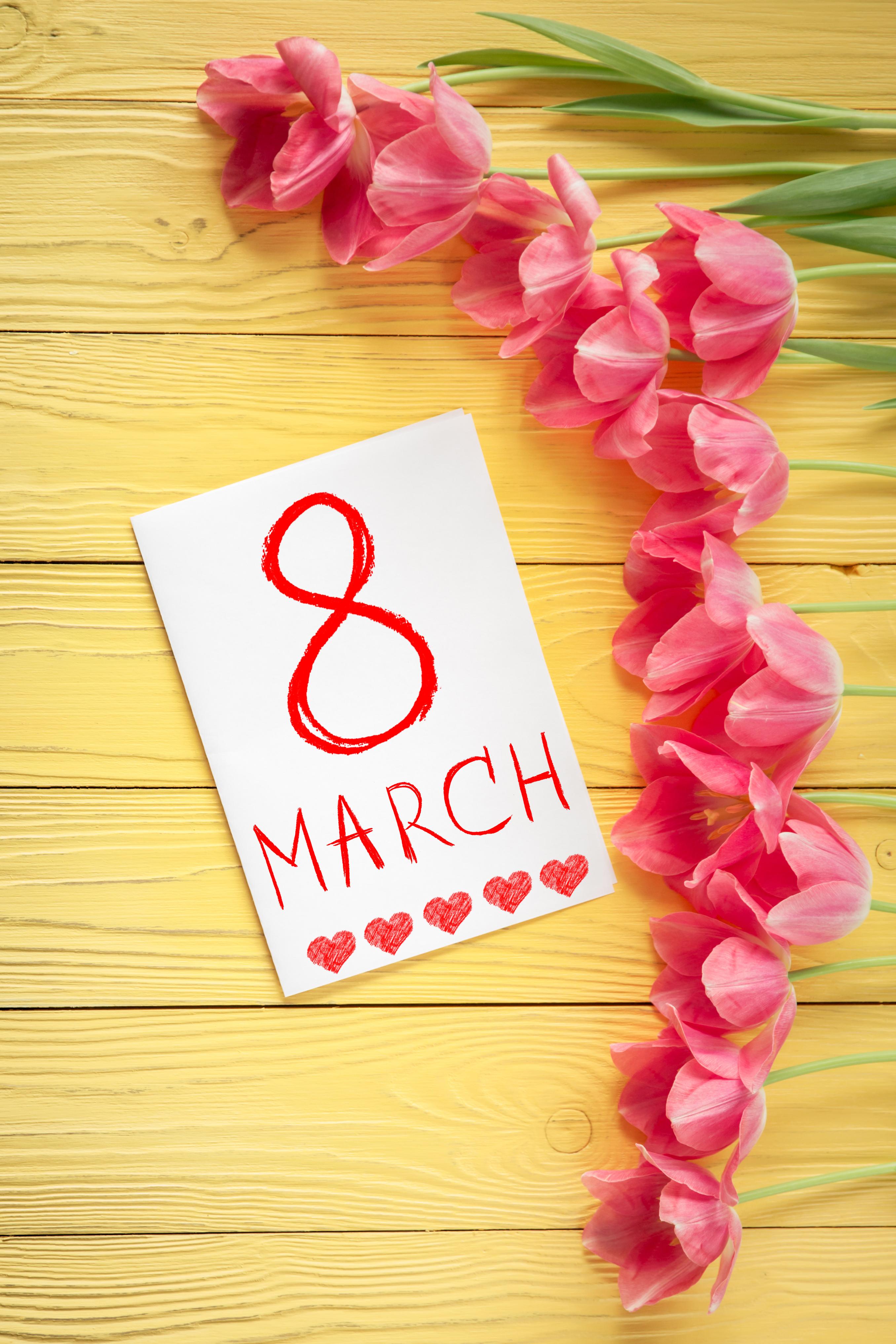 Открытки на 8 марта своими руками — коробочка идей и мастер-классов