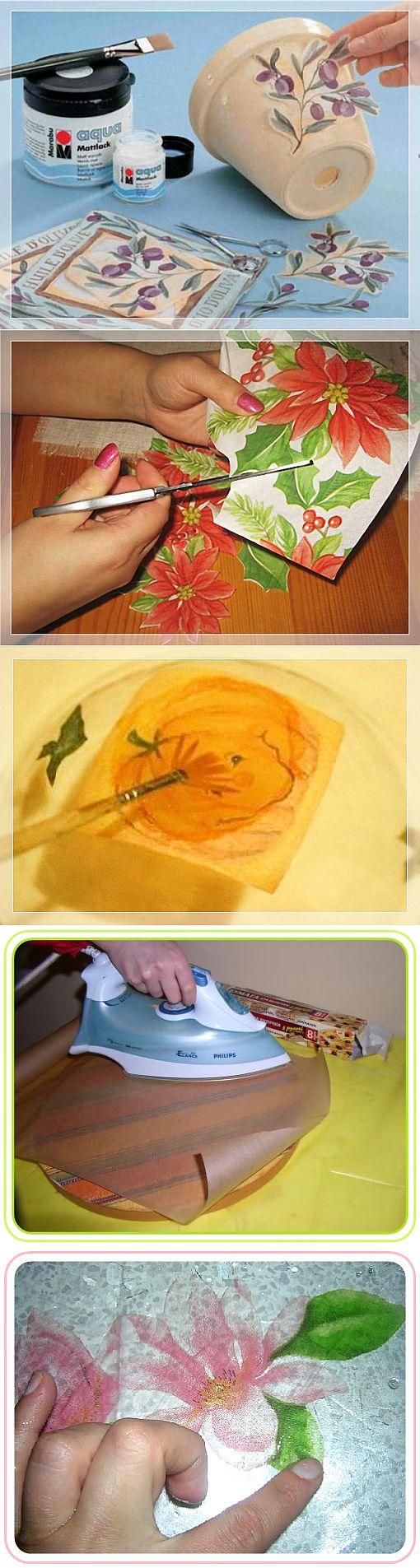 Картины из салфеток своими руками. картина из обычных салфеток как сделать панно из салфеток