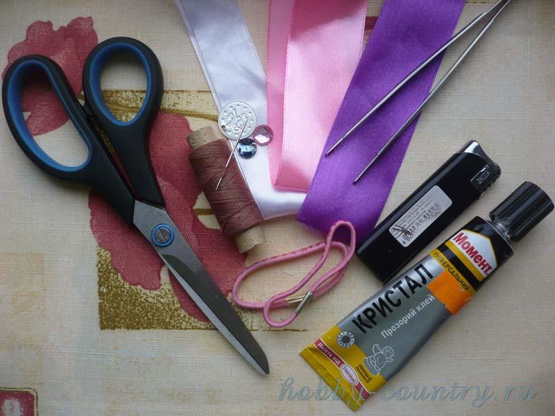 Как сделать лепестки канзаши своими руками: мастер-класс для начинающих